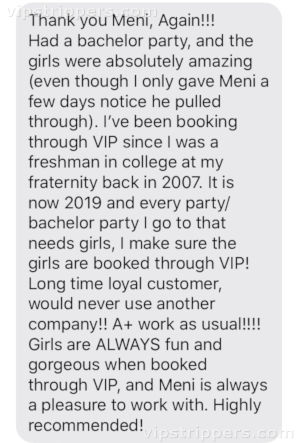 Anna bachelor party review